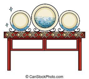 Plates at the China shop