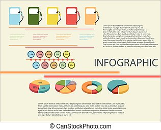 A visual representation of a report showing the usage of...