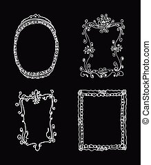 Hand-drawn frames
