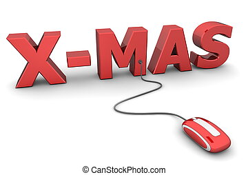 Browse Red X-Mas - Red Mouse