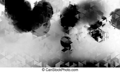 graphic black and white animation