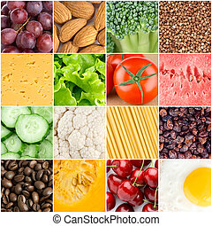 Healthy food backgrounds - Healthy fresh food backgrounds