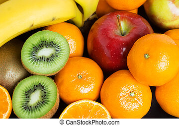 Healthy fresh fruit