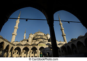 Sultan Ahmed Mosque, aka Blue Mosque, Istanbul - The name...