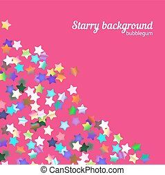 Holographic stars background - Holographic foil stars...