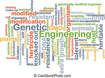 Genetic engineering background concept - Background concept...
