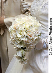 Bouquet, wedding bouquet, a very chic to keynote the white...