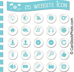 website icons - 25 website icons