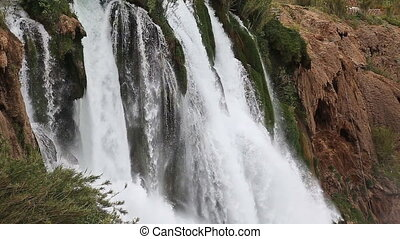 Waterfall Duden at Antalya, Turkey - nature travel...