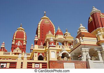 Hindu Temple - North Indian Hindu Temple Birla Mandir in New...
