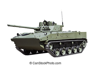 Russian airborne fighting vehicle is isolated
