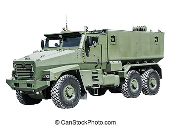 Armored Car enhanced security for the transportation of...