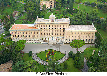 Rome - Residence of the Pope in Vatican, Rome