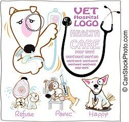 Vet Health care symbol