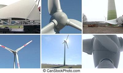 wind turbine assembly - Wind turbine parts transportation...