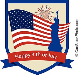 Happy independence day, 4th of July