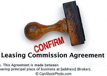 leasing agreement