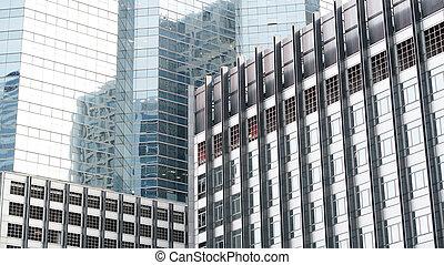 modern residence building facade