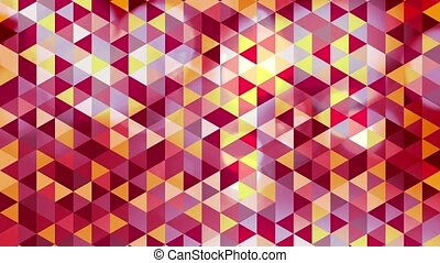 graphic colorful triangle animation - graphic colorful...