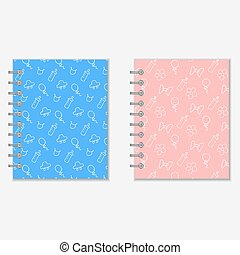 Mothers diary covers