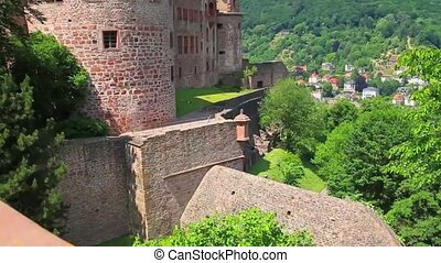 Castle Heidelberg in Germany, Europe