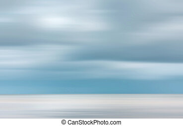 Blurred sea background Nature background with water and...