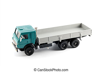 Collection scale model of the Onboard truck. The model is...
