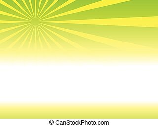 sunrays - Illustration of background with Sunburst