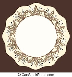 frames with ornaments