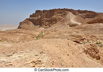 Masada stronghold - Israel - MASADA, ISR - APR 29...