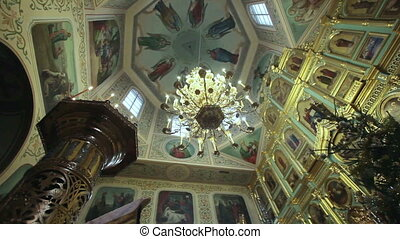 Interior church - The interior of the Christian Church...