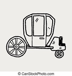 carriage doodle