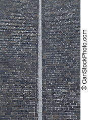 background road with a dividing line