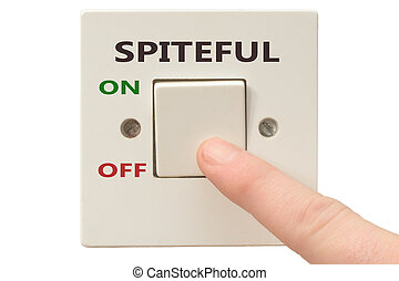 Anger management, switch off Spiteful - Turning off Spiteful...