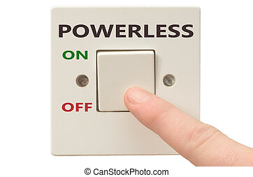 Dealing with Powerless, turn it off - Turning off Powerless...