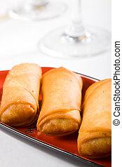 fresh egg rolls