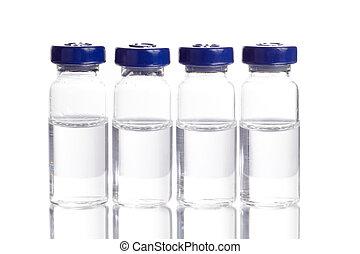 Medicine in Vials - Medicine in vials, ready for vaccine...