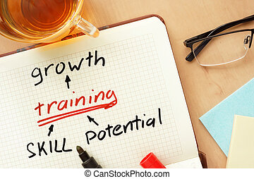 growth, training and skill