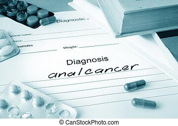 diagnostic, anal, cancer, et, pilules,