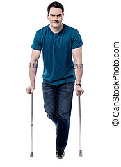 I am recovering from leg injury -
