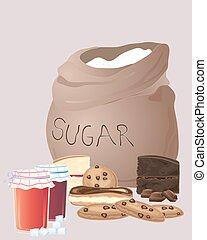 bolsa, azúcar