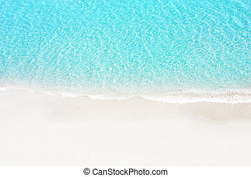 white sand beach - Beautiful white sand beach and tropical...