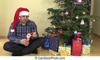 funny man christmas sweet