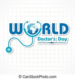 National Doctor's Day Greeting - Creative National Doctor's...