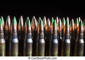 Green tipped bullets - Cartridges that have bullets that are...