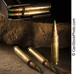 Cartridges with a green tip - Cartridges that are considered...