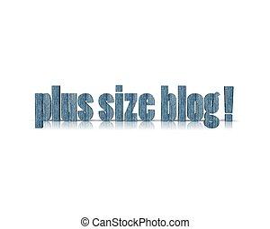 plus size blog 3d word