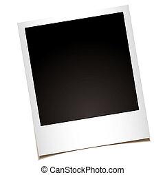 single instant photo