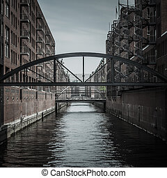 Hafencity in Hamburg, Germany