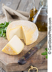 Hard cheese made the traditional way with quality products